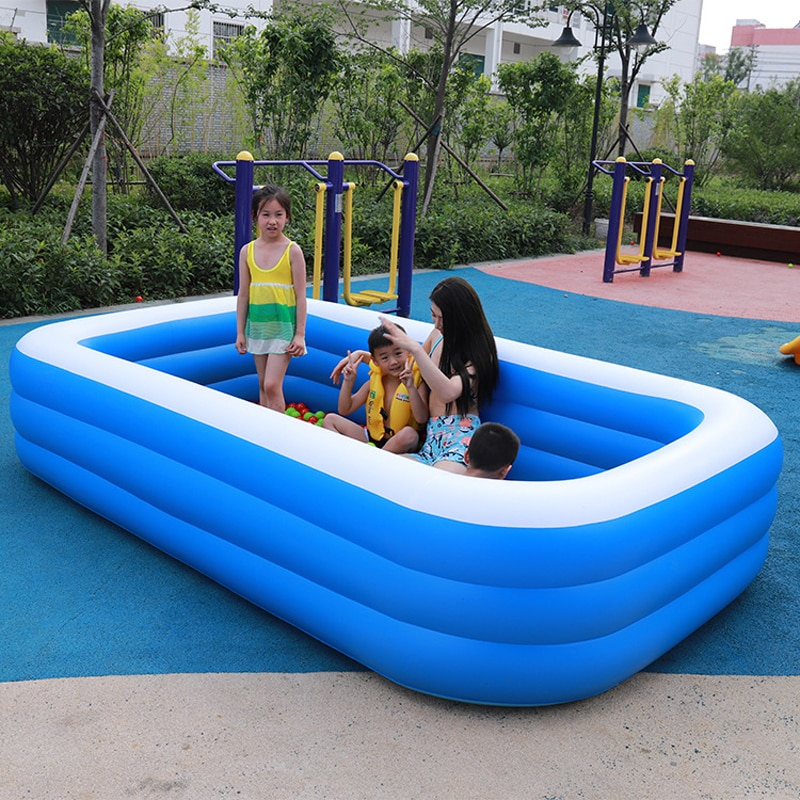 Hot Sale Inflatable Swimming Pool Children Ocean Pool Baby Bath Swim Tubs Plus Size Large Pvc Kids Swimming Pools Eco Friendly Jomshoppy